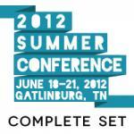 2012 Summer Conference Set